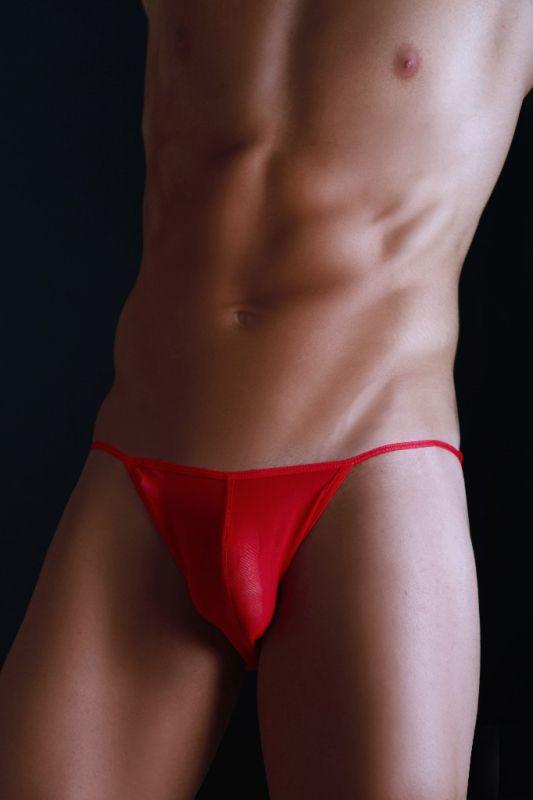MaleBasics String Tulle Bikini