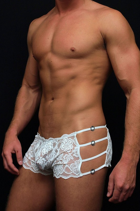 MaleBasics Lace Mini Boy-Short